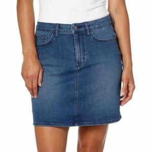 Calvin Klein Ladies' Denim Skirt Moonlight Dusk